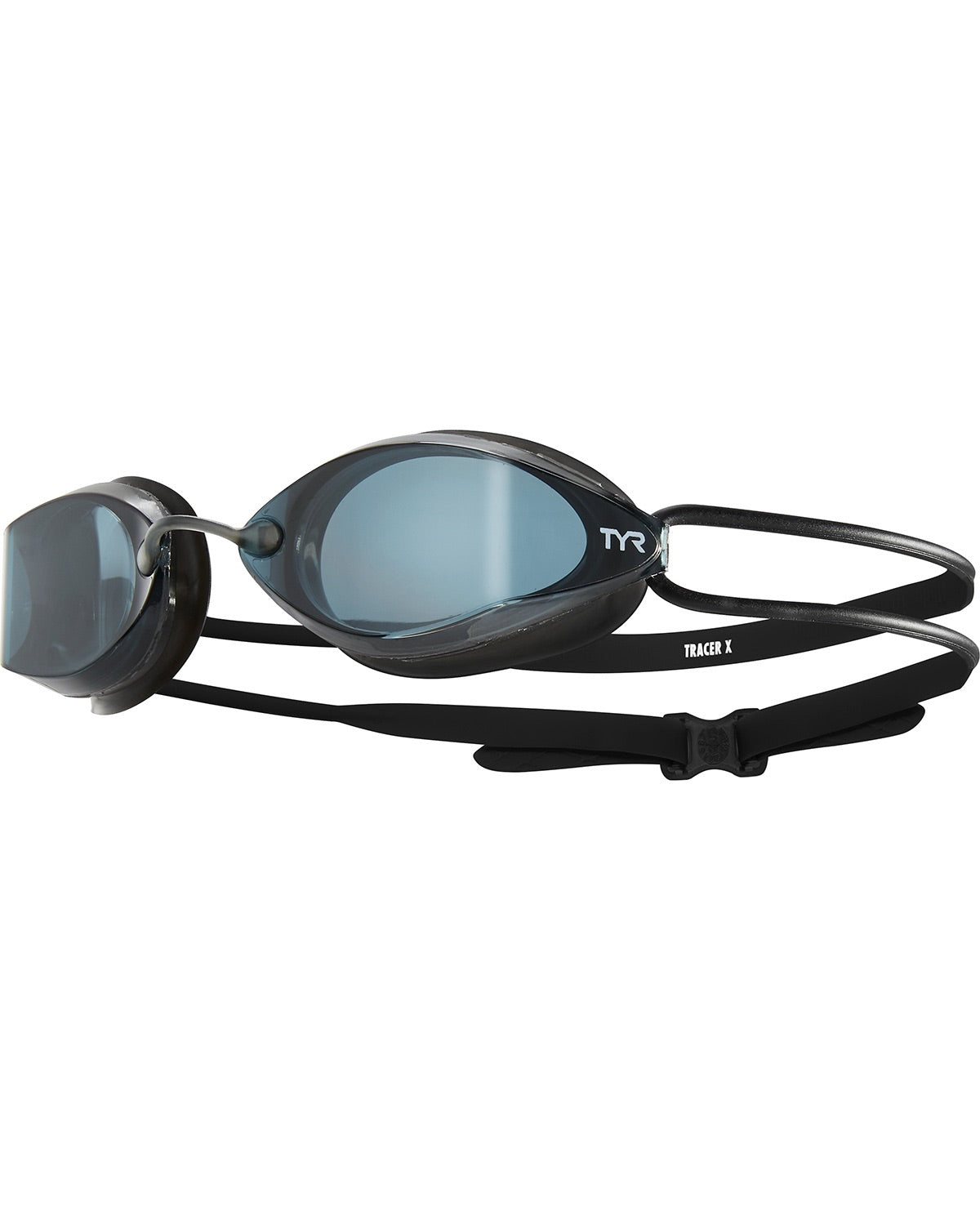 TYR TRACER-X RACING ADULT GOGGLES INSMOKE/BLACK