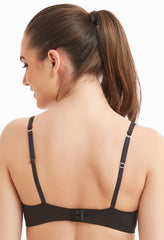 MONTELLE 9310 PURE T-SHIRT BRA IN BLACK