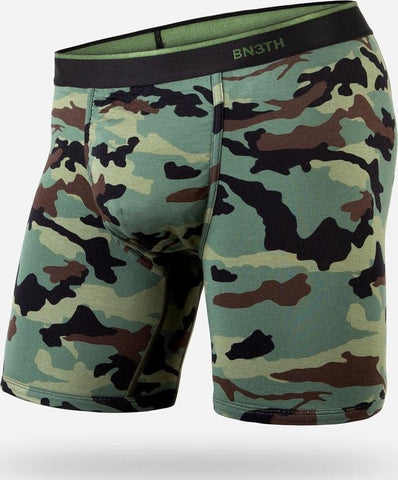BN3TH BOXER BREIF IN PRINT CAMO GREEN