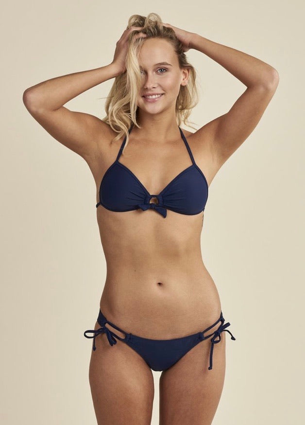 BIKINI SEDUCTION BRA TOP IN NAVY