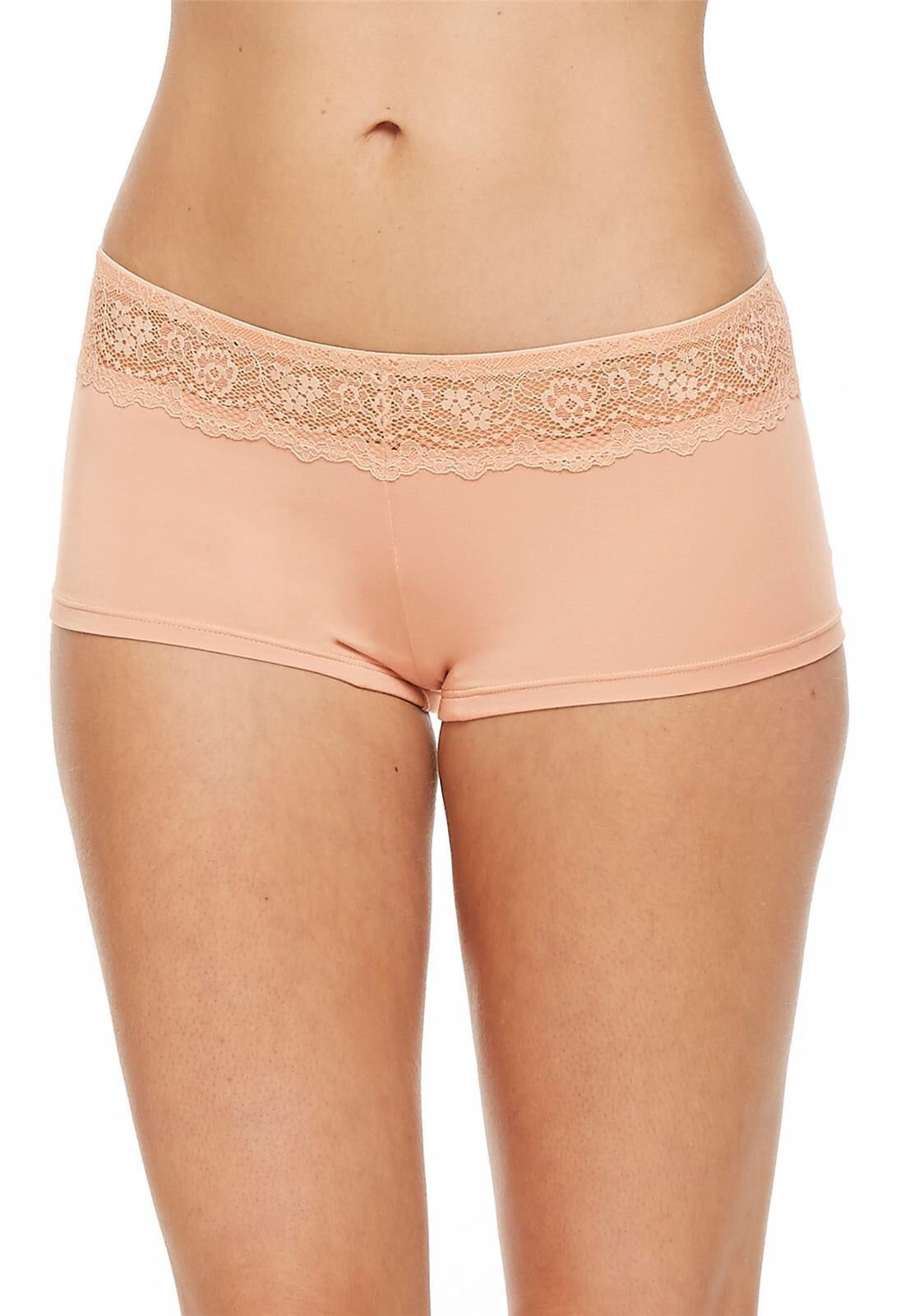 MONTELLE BODYBLISS BREEZE COLLECTION BOYSHORT IN SEASHELL
