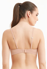 MONTELLE 9316 ALLURE LIGHT PUSH-UP BRA IN NUDE