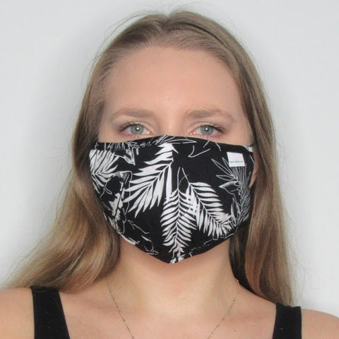 Adult Palm Cotton Mask with Adjustable Ear Piece