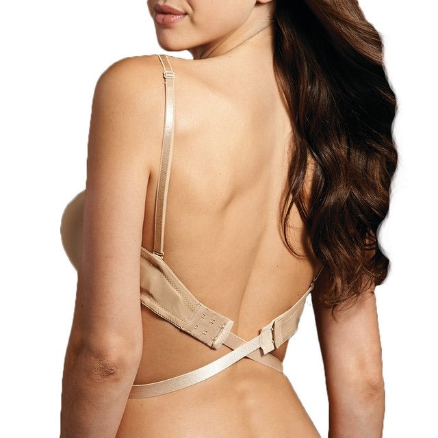 Bra Accessories- Low Back Converter in Nude or Black
