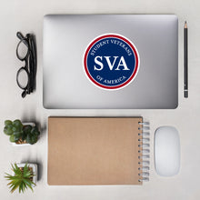 Load image into Gallery viewer, Student Veterans of America Logo Sticker