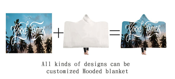 Customized Hooded Blanket
