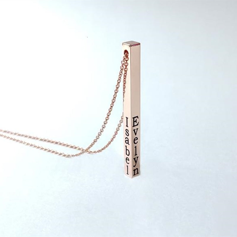 Wima Engraved Necklace