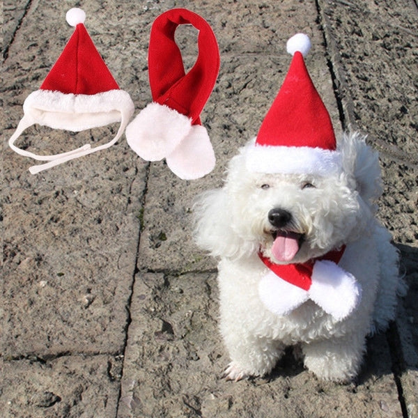 Christmas Dog Scarf | Christmas scarfs for dogs | Christmas bandana for dogs
