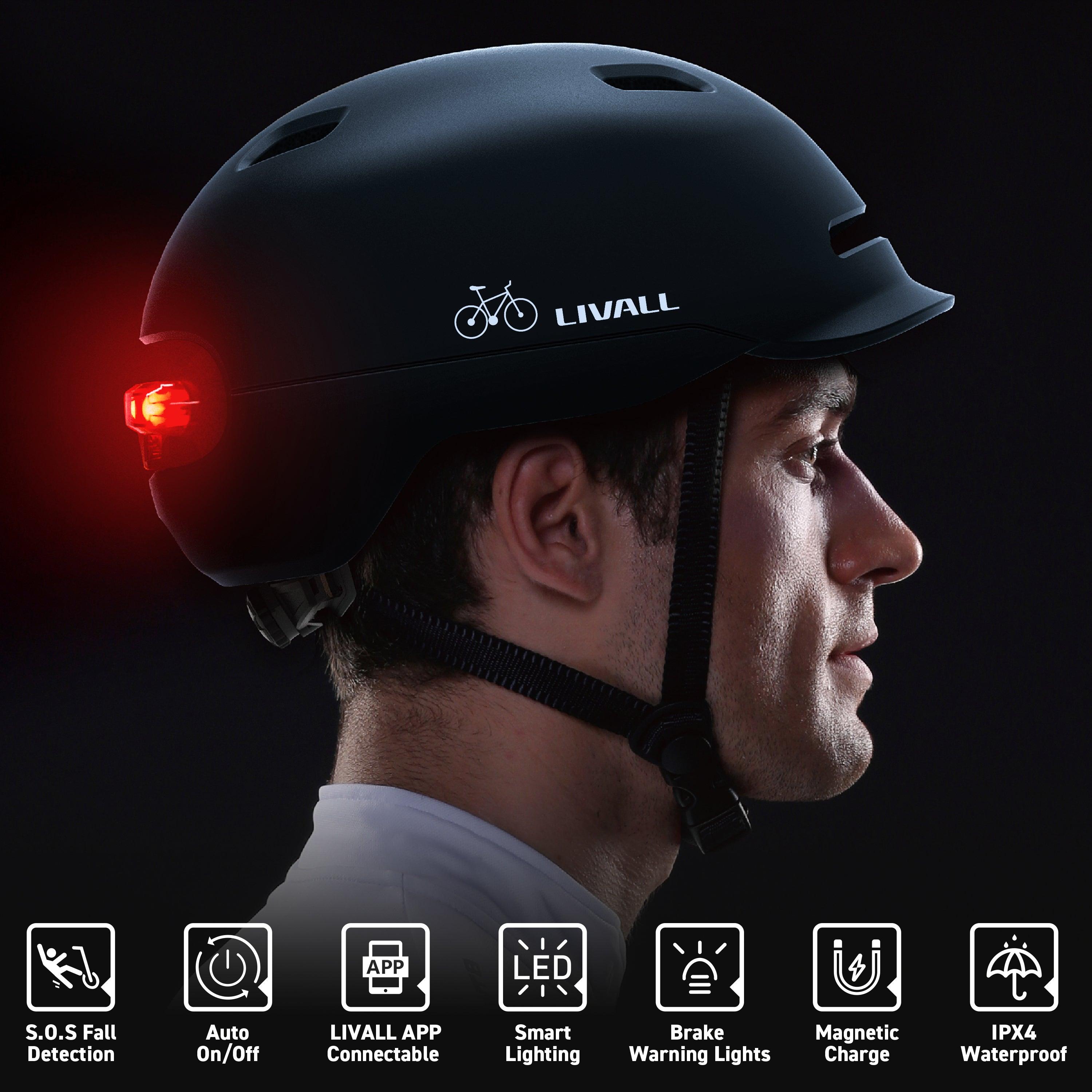 Smart LIVALL C20 Bike Helmet