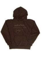 "Load image into Gallery viewer, Undrafted X Monotone Monday by Sydney Troi ""Hoodie"""