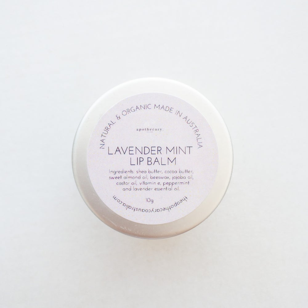 Load image into Gallery viewer, Lavender Mint Lip Balm