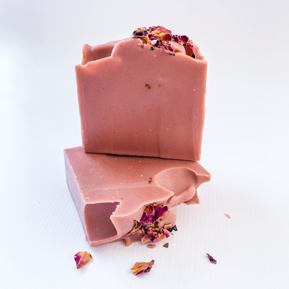 Rose Clay Soap Bar