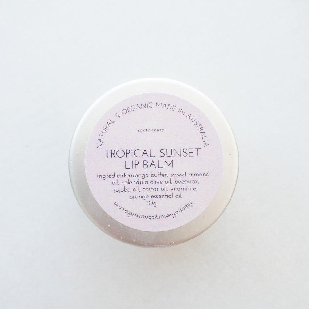 Tropical Sunset Lip Balm