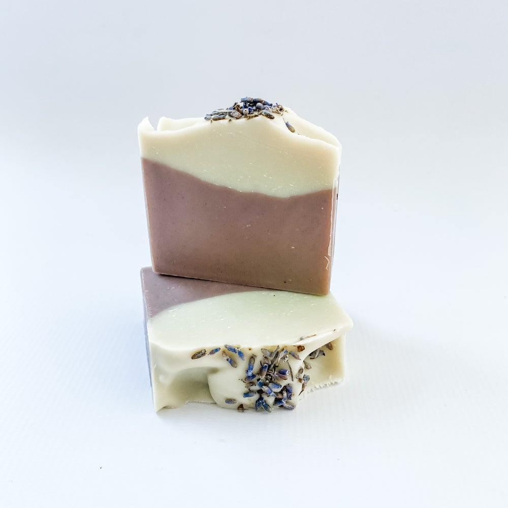 Lavender & Purple Brazilian Clay Soap Bar
