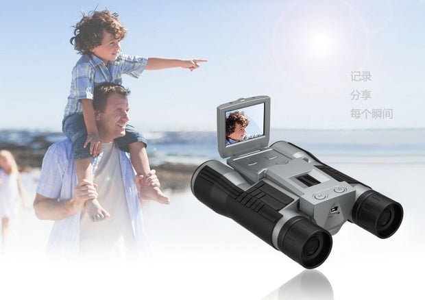 "1080P HD Digital Telescope Camera with 2.0"" TFT LCD for Photo Snapshot & Image Video Recording with Max 32Gb TF Card Memory"