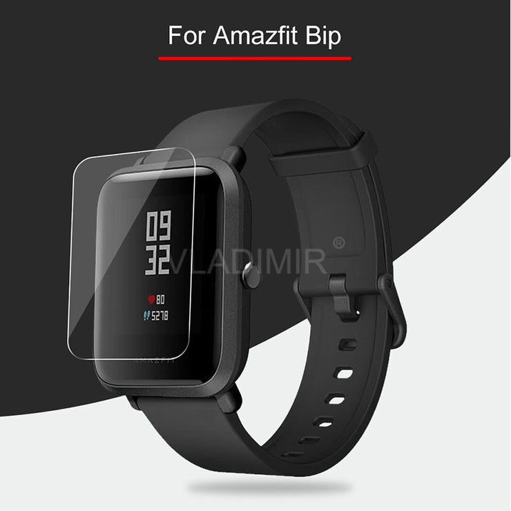 DAHABY Soft TPU Film Screen Protector For Xiaomi Huami Amazfit Bip Youth Verge 3 Stratos 2 Smart Watch Clear Guard Not Glass
