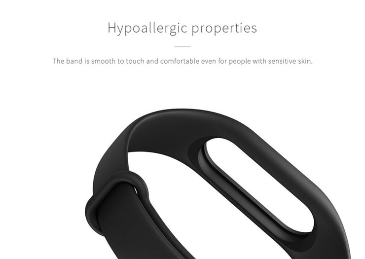 Original Xiaomi Mi Band 2 Strap Colorful Replaceable Watch Bracelet Silicone TPE Wrist Band for Xiaomi Miband 2 Smart Wristband
