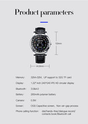 CHENXI Bluetooth Smart Watch Q912  With Camera Facebook Whatsapp Twitter Sync SMS Smartwatch Support SIM TF Card For IOS Android