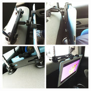 Car Back Seat Tablet Headrest Mount Holder Stand For SAMSUNG Mipad 2 iPad 2/3/4 Air 5 Air 6 ipad mini 1 2 3 4 Tablet PC Bracket