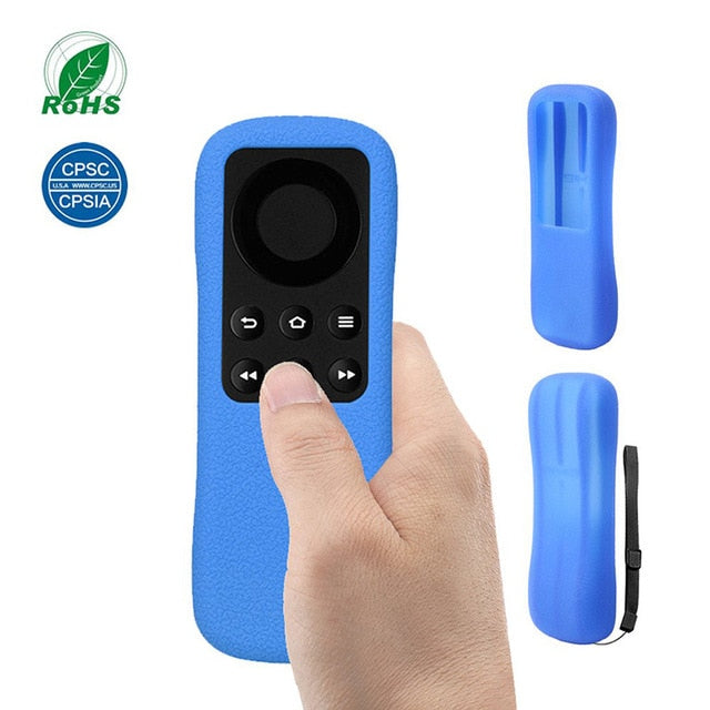 Covers For Amazon Fire TV Stick Remote Control Cases SIKAI Shockproof Silicone Protective Anti-Slip Washable Lightweight