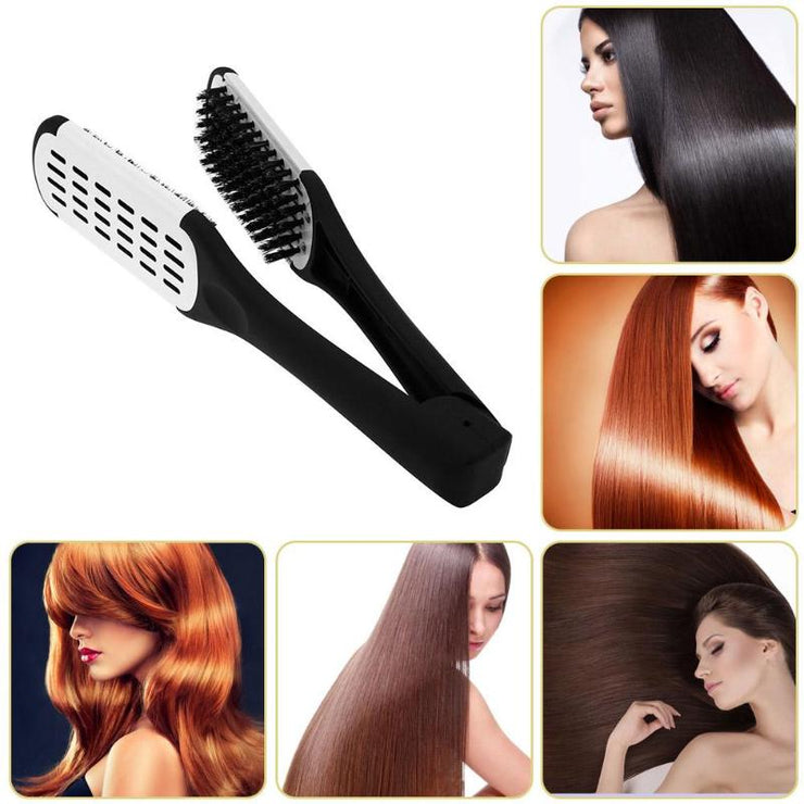 Double Sided Straightening Comb