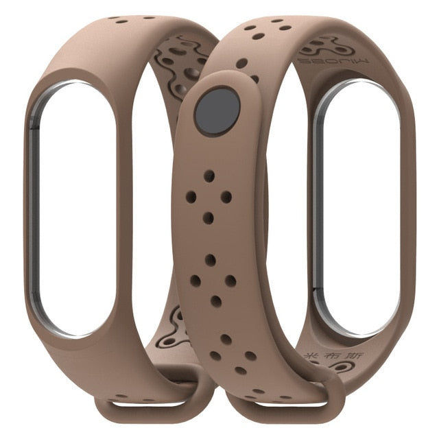 Mi Band 3 4 Strap Bracelet wrist  wach xiomi Mi band3 4 accessories smart brtacelet sport Silicone Strap for Xiaomi mi band 4 3