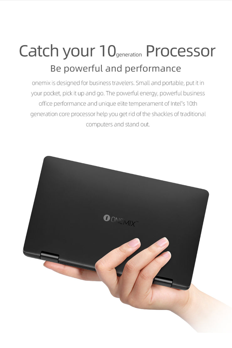 8.4-Inch Mini Laptop Onemix3pro Core 10 Generation I5 Handheld Laptops Business Thin Laptop In Pocket 16G 512G Mini Notebook