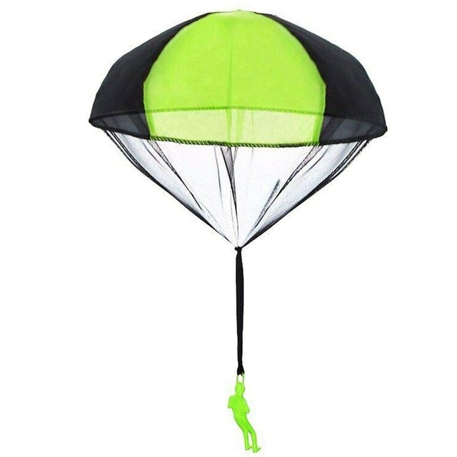 Hand Throwing Mini Soldier Parachute Toy