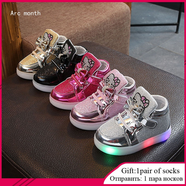 Glowing Sneakers for Kids