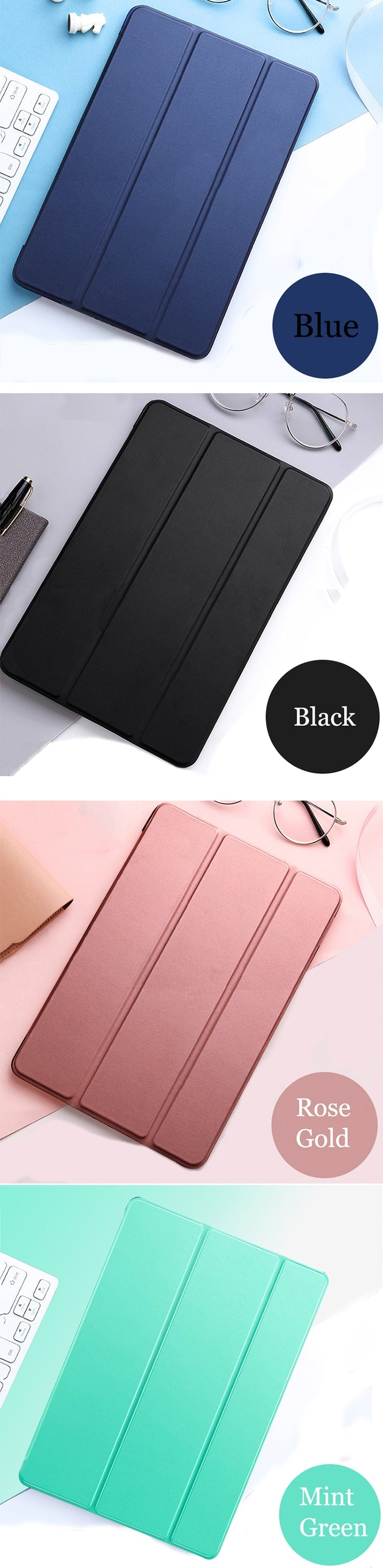 Tablet case for Samsung Galaxy Tab E 9.6 PU Leather Smart Sleep wake funda Trifold Stand Solid cover capa card for SM-T560/T561