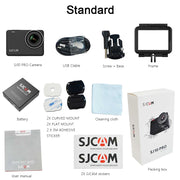 SJCAM SJ10 Pro Action Camera Gyro EIS Supersmooth 4K 60FPS WiFi Remote 1300mAh Battery Ambarella H22 Chip 10m Body Waterproof DV