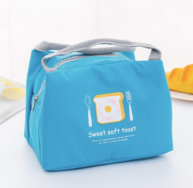 Portable Insulated Thermal Lunch Box