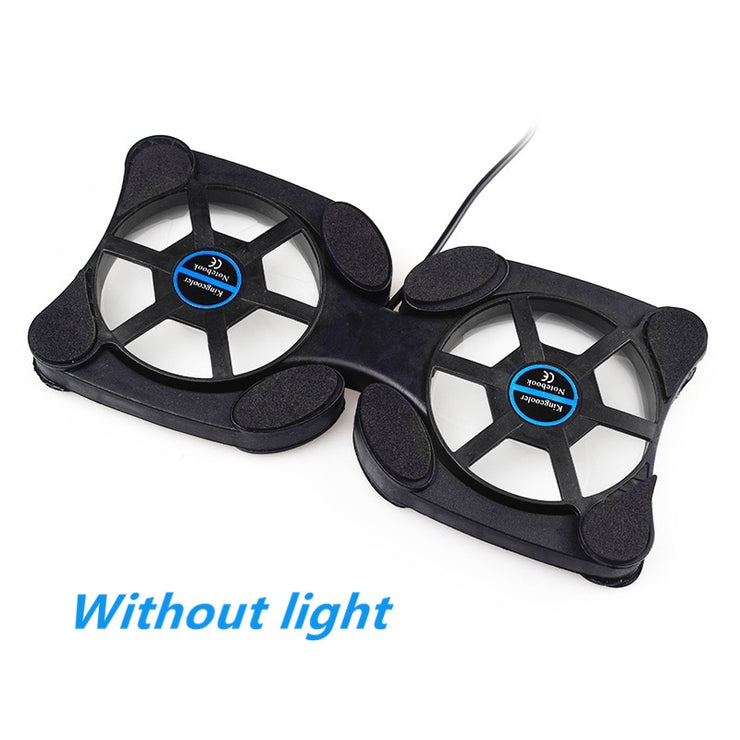 Rotatable USB Fan laptop cooler cooling pad for laptop cooler pad Computer Folding Coller Fan Cooling Pad Wholesale Store Price