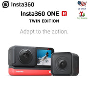 Insta360 ONE R 360 Action Camera,with Flowstate Stabilization,4K Video Real Time WiFi Transfer Action Camera Insta360 ONE X