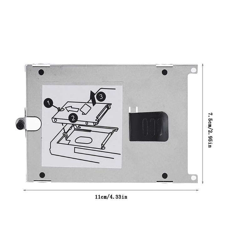 PC Computer Laptop HDD Hard Drive Carrier Mounting Frame Tray Bracket for H-P 6910P NC6400 NC4400 6930P 8510P 6515B 8710W 8540P