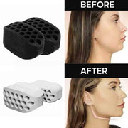 2pcs JawLine Exerciser Ball Facial Jaw Muscle Toner Trainin Fitness Anti-aging Food-grade Silica Face Chin Cheek Lifting Slimmin