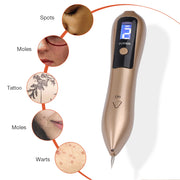 9 Level LCD Face Skin Dark Spot Remover Mole Tattoo Removal Laser Plasma Pen Machine Facial Freckle Tag Wart Removal Beauty Care