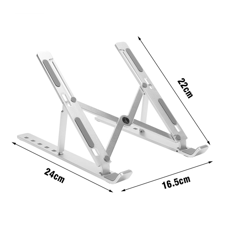 Laptop Stand for MacBook Pro Notebook Foldable Aluminium Alloy Tablet Stand Bracket Laptops Holder for Ipad Notebook PC computer