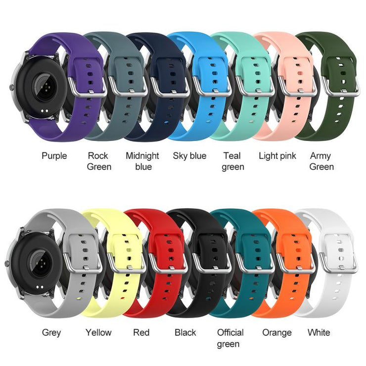 Solid Color Silicone Strap Wristband For Xiaomi Haylou Solar LS05 Smart Watch Waterproof Comfortable Wristband Strap Bracelet