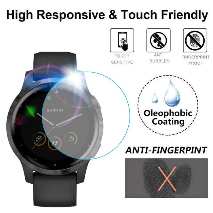 Soft Clear Protective Film Guard Protection For Garmin Venu/Activ Smart Watch