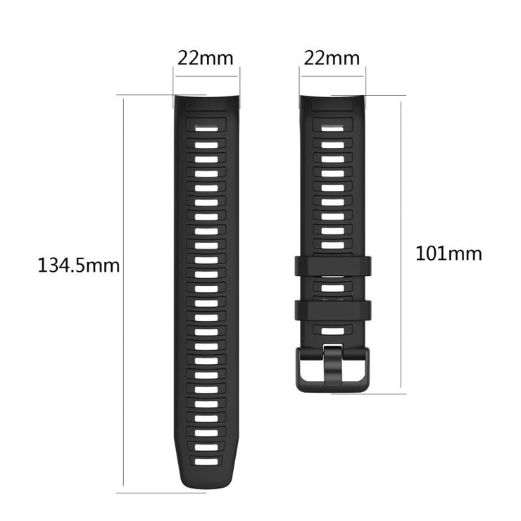 Multicolor Silicone Straps Wrist Strap Bracelets Sweat-proof Ergonomical Design Watchband For Garmin Instinct Smart Watch