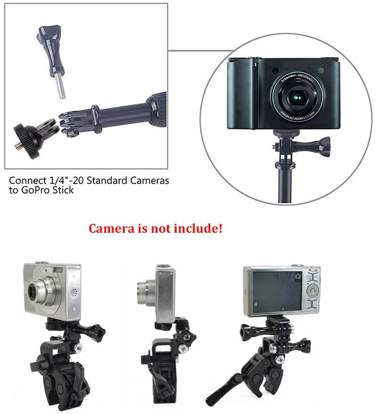 Action Camera Mount Universal Conversion Adapter Set Tripod Screw Mount Accessories For GoPro hero 9 8 7 6 5 DJI Action Cameras