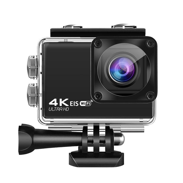 New UHD WiFi EIS Action Camera with Chip 4K/60Fps EIS Underwater 30M Helmet Video Recording Cameras Sport Cam