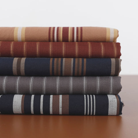 Merino stripe fabric - The Fabric Store Online