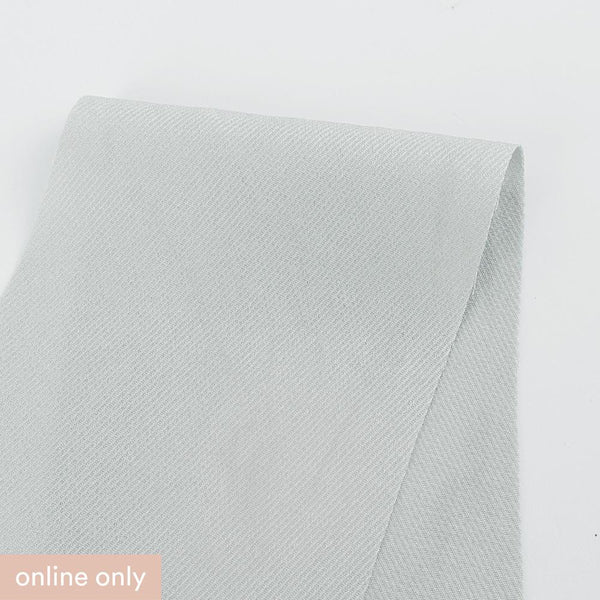 Acetate / Rayon Twill - Cloud - Buy online at The Fabric Store