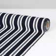 Awning Stripe Rayon Challis - Midnight ?id=15146349658193