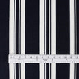 Awning Stripe Rayon Challis - Midnight ?id=15146349723729