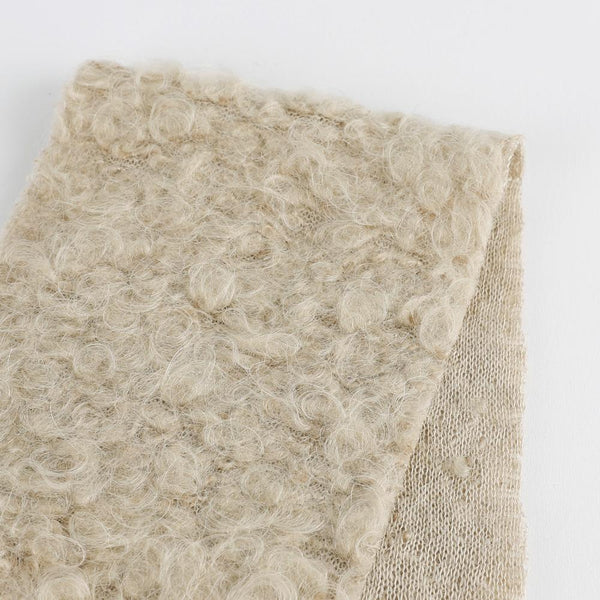 Japanese Boucle Wool Knit - Fawn