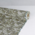 Camo Cotton Chambray - Army