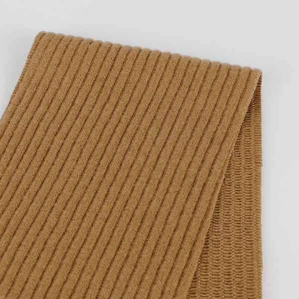 Japanese Knitted Corduroy - Camel